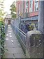 SK3448 : Sluices by East Mill, Belper by Chris Allen
