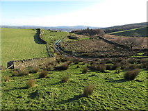 ST0085 : View east along the Taff Ely Ridgeway by Gareth James