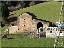 SS9984 : Former mine buildings at the site of South Rhondda colliery by Gareth James
