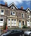 ST5775 : Terraced houses, Manor Park by Gordon Hatton
