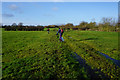 SE6357 : Private farm track leading to Earswick by Ian S