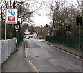 SP1199 : Butlers Lane railway station name sign, Sutton Coldfield by Jaggery