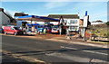 ST0106 : Cullompton: Gulf filling station, Exeter Road by Martin Bodman