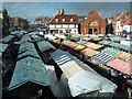 TA0339 : Beverley on Market day. by Paul Allison
