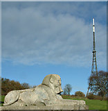 TQ3470 : The Sphinx and the Mast by George Griffin