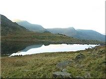 SH6559 : North End of Llyn Bochlwyd by Barry Hunter