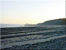 ST1867 : St Mary's Well Bay just west of Lavernock Point by Penny Mayes