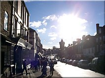 SO7137 : Ledbury High Street by Gary Barber