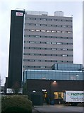 SJ8696 : Fujitsu Building in West Gorton by Gary Barber