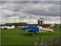 SJ7497 : Barton Aerodrome, Eccles, Manchester by Keith Williamson
