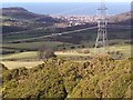 SH9573 : View from Moelfre Isaf above Abergele by David and Rachel Landin