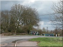 SU1680 : Site Entrance between Wroughton and Chisledon by Martyn Pattison