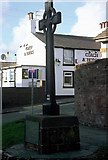 SJ2587 : Greasby Cross by Rosalind Mitchell