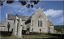 SY8880 : Tyneham Church by Ben Gamble