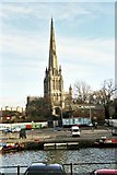 ST5972 : St Mary Redcliffe, Bristol by Rosalind Mitchell