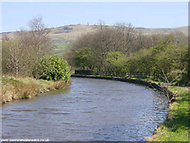SD9804 : Huddersfield Canal at Friezland, Greenfield by Martin Clark