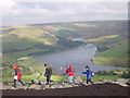 SE0002 : Dovestones Reservoir from Alphin Pike by Martin Clark