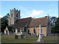 TL4958 : Teversham church by mym