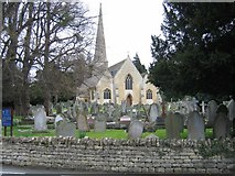SO9419 : St Peter's, Leckhampton by Stephen Bowden