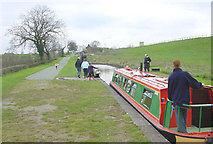 SJ6255 : Hurleston Locks, Llangollen Canal by Martin Clark