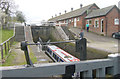 SJ5759 : Bunbury Locks and Stables by Martin Clark