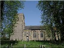 TM0969 : Wickham Skeith church by mym