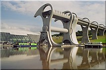 NS8580 : The Falkirk Wheel by Nick Leverton