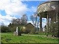 NS7576 : Carrickstone water tower by Richard Webb