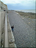 TQ3502 : The Undercliff Path, Rottingdean by Bob Embleton