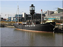 TA0928 : The Spurn Lightship by Andy Beecroft