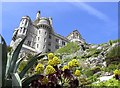 SW5129 : View of Castle on St Michael's Mount by Richard Johns