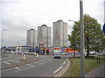 SE8911 : Crosby Highrise Flats by fred roberts