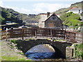 SX0991 : Boscastle Harbour - taken after Boscastle re-opened for business by Rowena Ford