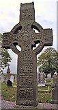 O0482 : Muiredach's Cross at Monasterboice by Benson Wills