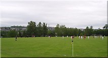 NJ9209 : Junior Football pitch looking towards Tillydrone by Colin Walker