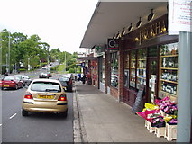 NS5455 : Broom Shops, Newton Mearns by Gordon McKinlay