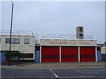 TQ1472 : Twickenham Fire Station by steve