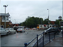 TQ3891 : Level Crossing, Highams Park by Claire Ward
