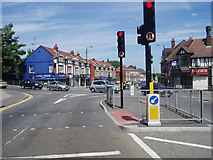 TQ3562 : Coming into Selsdon from the west by Nigel Freeman