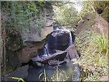 SS7799 : Aberdulais Falls by Hywel Williams