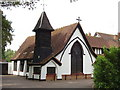 TQ0184 : Bridgettine Roman Catholic Church and Convent, Iver Heath by David Hawgood