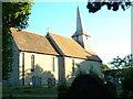 SU9006 : Tangmere Church by Chris Shaw
