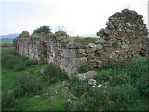 NT0792 : Redcraigs ruined cottage by Ian Mitchell