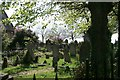 SU4411 : Peartree Green Churchyard by David Mainwood
