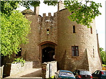 SO5504 : St Briavels Castle by Bob Tinley