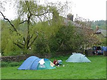 SO5510 : Campsite at Cherry Orchard Farm, Newland, Near Coleford, Glos by Pete Chapman