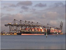 SU3812 : Prince Charles Container Port, Eastern Docks, Southampton by Jim Champion