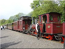 SO0612 : Brecon Mountain Railway. Pontsticill Station by Pete Chapman