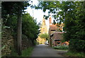 SK7929 : Church Lane, Eaton, Leicestershire. by Kate Jewell