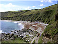 SX0140 : Vault Beach, south of Gorran Haven by Jim Champion